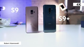 Samsung Galaxy S9 Recenzja   Różnice względem S9+   Robert Nawrowski