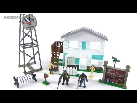 Mega Bloks Call of Duty Nuketown review! set 6878