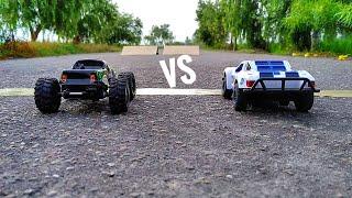 Rc Rock Crawler Vs Rc Muscle Car - Mini cars racing
