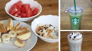Quick, Easy & Healthy - After School Snacks ♥