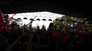 THRISSUR POORAM 2015, youths enjoying