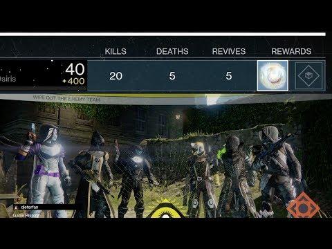 Destiny: My Craziest Flawless Game Of Year 3 (Raw Gameplay)