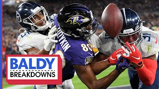 Titans Secondary Shines in Playoff Win Over Ravens | Baldy Breakdowns
