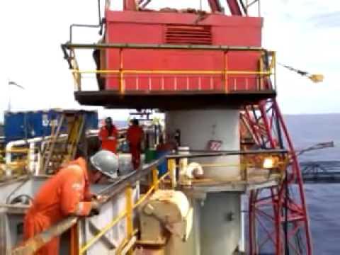 Offshore Pedestal Crane Boom Hoist Faliure