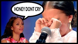 Top 5 34 When Children Start To Cry And Get Emotional On Got Talent World