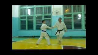 Training in sport karate - 2014