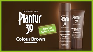 For light and grey roots & for a brilliant brown colour | Plantur39 Colour Brown