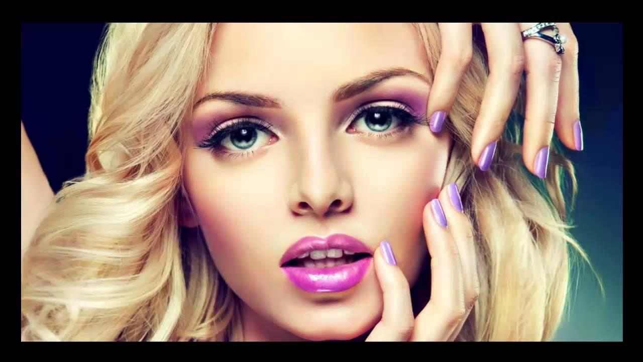 Фото домашнего макияжа блондинкам