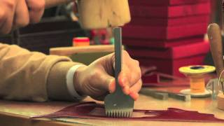 The handwork of JnK. - Leica X1 half case making movie