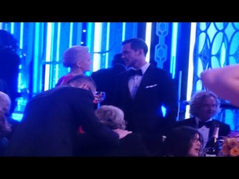 2016 Golden Globes- Jennifer Lawrence Reunites With Her Ex Nicholas Hoult At 2016 Golden Globes