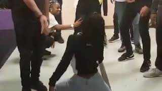 GIRL WINS DANCE COMPETITION