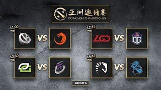 Team Liquid VS NEWBEE - GROUP A -  Dota 2 Asia Championship 2018 day 4