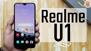 Realme U1: Unboxing | Hands on [Hindi हिन्दी]
