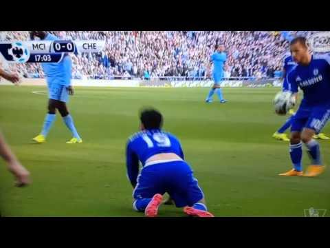 Man City - Chelsea (Duel Fighting Diego Costa VS Kompany)
