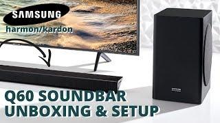 01. Samsung Q60r Soundbar Unboxing and Easy Setup