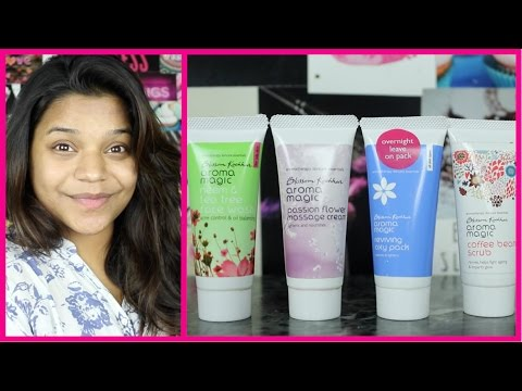 Aroma Magic - Skin Care Products  First Impressions    Miss Pink Shoes