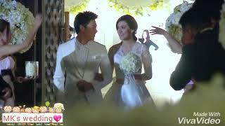 Mark Kim Đám cưới thế kỷ mang hạnh phúc đời thật :)