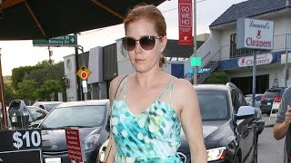 Amy Adams And Fiance Darren Le Gallo Dine Out Before Their Big Day