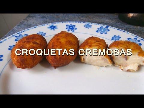 receta de CROQUETAS DE POLLO casera y CREMOSAS - recetas de cocina faciles rapidas y economicas