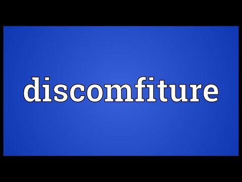 Header of discomfiture
