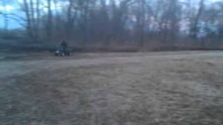 yamaha raptor 350 in mud