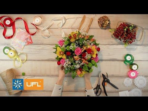 Купить изысканный Букет «Пастель» | U-F-L.net