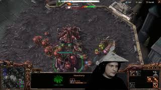 Zerg vs Zerg Dronnon Rush