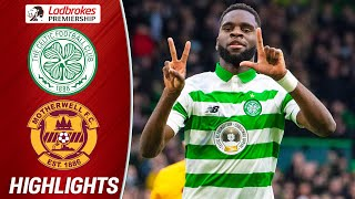 Celtic 2-0 Motherwell  Odsonne Edouard Keeps Celts at the Top!  Ladbrokes Premiership