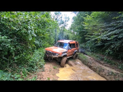 Land Rover Discovery TD5 - Monster JIF  **EXTREME OFF ROAD SHOW**