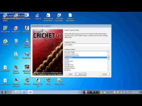 How to download and install EA SPORTS CRICKET 2007