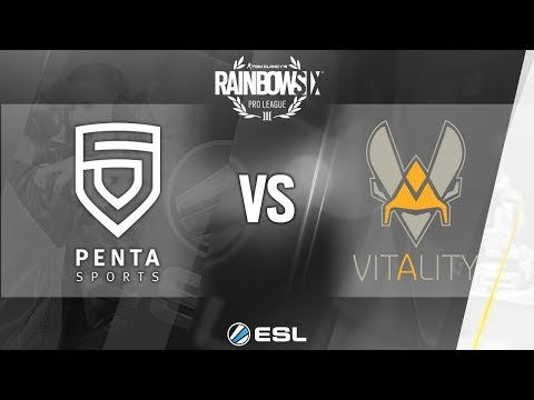 Rainbow Six Pro League - Season 7 - EU - PENTA Sports vs. Team Vitality - Week 6