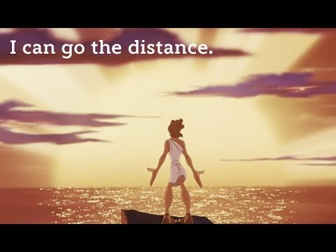 Hercules   I Can Go The Distance video
