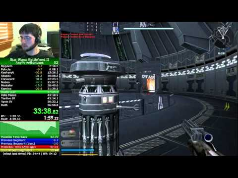 Star Wars Battlefront II Speedrun in 54:57