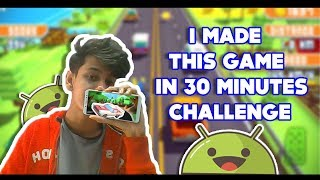 I MADE THIS GAME IN 30 MINUTES FOR ANDROID AND PC || FUNNY HINDI GAMEPLAY PUBG  || HINDUSTAN GAMER