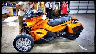2014 Can-Am Spyder ST-LTD Assembly!  | ShopTalk