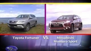 Toyota Fortuner vs Mitsubishi Montero Sport - Head 2 Head