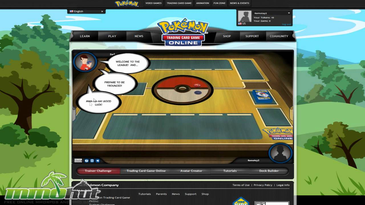 original pokemon game online