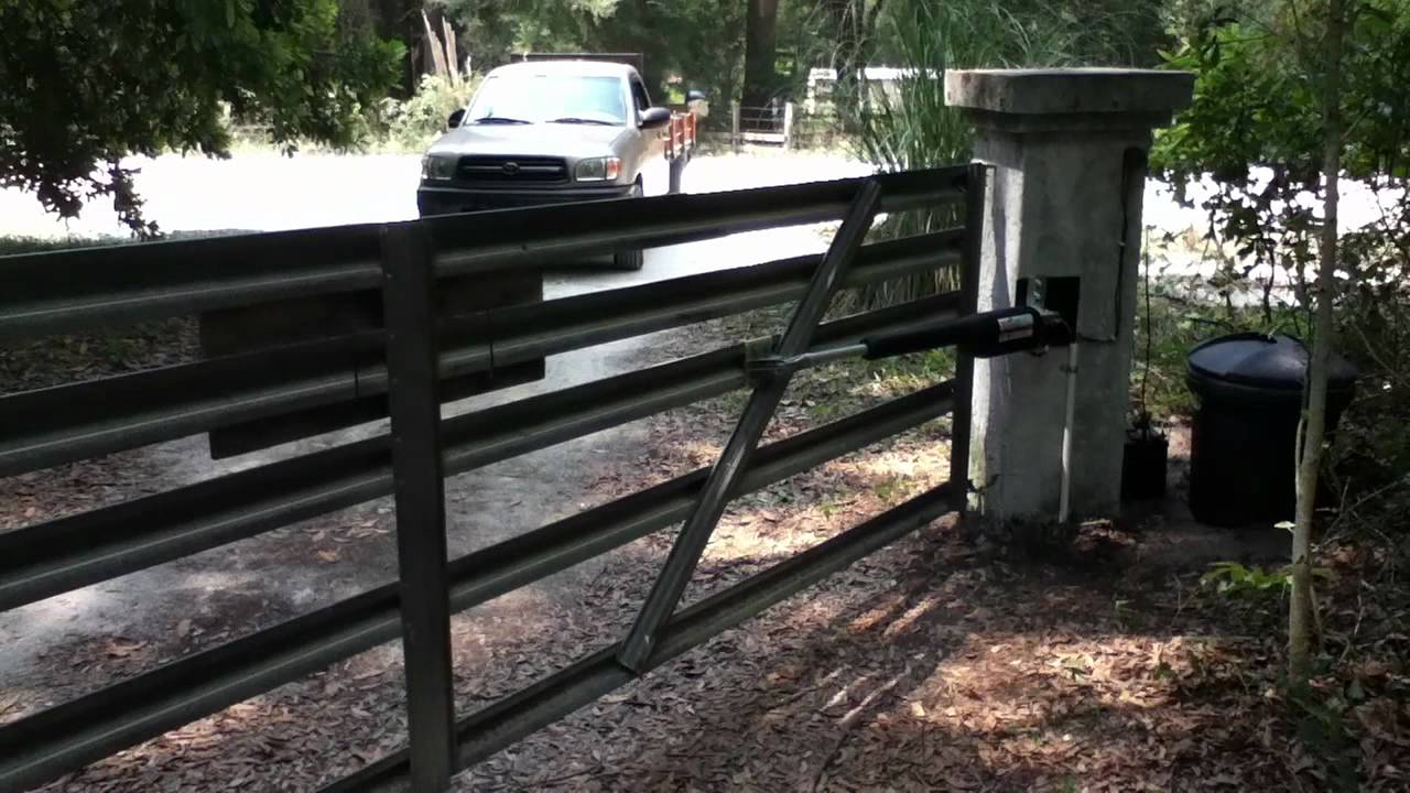 gate opener 2015 images of how to install mighty mule gate opener