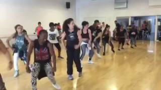 Anna Bou Ragga Dancehall Workshop at VENT15 13.09.15