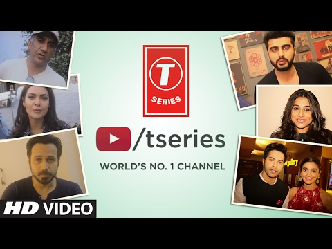 Bollywood Supports T-Series Music | The World Most Viewed Channel On YouTube