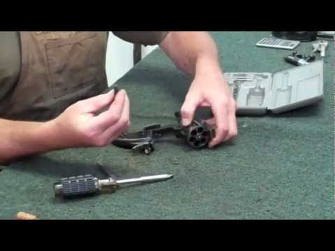 Gunsmithing Disassembly: Smith & Wesson Schofield (Uberti hideout model) Gunworks