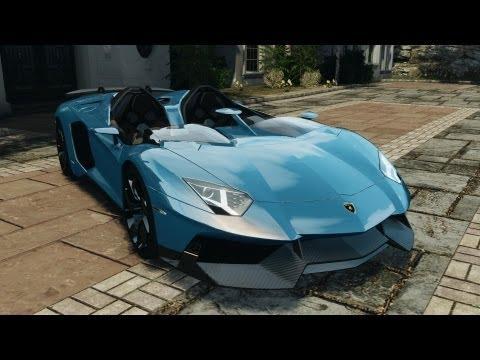 Lamborghini Aventador J 2012 v1.2
