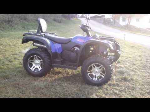 HISUN ATV 500 EFI Detailed Review and Sound Quad