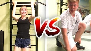 lustiges TRAINING endet so... 🏋🏼‍♂😅 Max VS Chrissi 💥