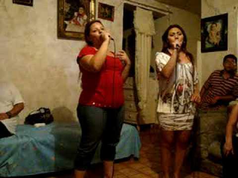 AHORA QUE ESTUVISTE LEJOS-YENNY  RIVERA CON KARAOKE-Shows D´Brenda