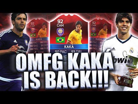 OMFG KAKA IS BACK!!! 90 PACE iMOTM KAKA!!! FIFA 16 ULTIMATE TEAM