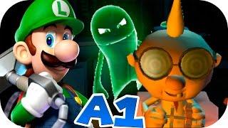 A-1: ¡#Luigi El CAZAFANTASMA Verde esta de vuelta!   👻LUIGI´s MANSION: DARK MOON🌙   al 100% ᴴᴰ