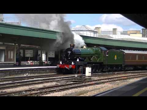 5043 Earl of mount Edcumbe on The Whistling Ghost @ Bristol Temple Meads 25/05/13