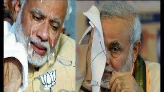 सरेआम रो पड़े भारत के प्रधानमंत्री नरेंद्र मोदी देखिये क्यों छलके मोदी की आंख से आंसू