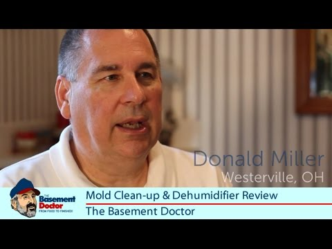 review mold cleanup dehumidifier westerville ohio the basement doctor